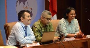 Direktur Jenderal Hukum dan Perjanjian Internasional Kementerian Luar Negeri, Damos Dumoli Agusman (kiri)/Ist