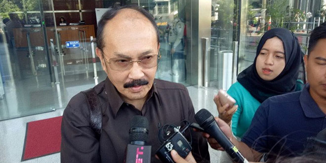Fredrich Yunadi, pengacara Setya Novanto (Arie/Okezone)
