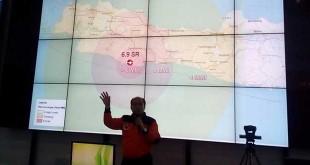 Kepala Pusdatin dan Humas BNPB Sutopo Purwo Nugroho (Reni/Okezone)