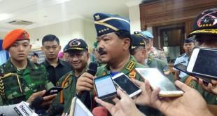 Panglima TNI Hadi Tjahjanto (Foto: Putera/Okezone)