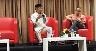 Direktur Eksekutif LIMA, Ray Rangkuti saat diskusi (foto: Harits/Okezone)