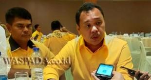 Koordinator Bidang Pemenangan Pemilu Golkar Sumut, Sahlul Umur Situmeang. (WOL Photo/Ist)