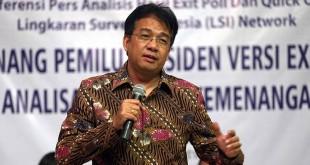 Peneliti LSI Denny JA (Foto: Okezone)