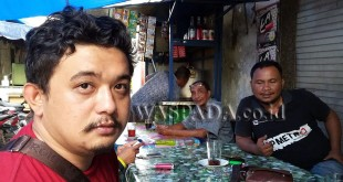 Handpohone milik Ferry Ginting, driver Gocar lewong dirampok bandit jalanan. (WOL Photo/Gacok)
