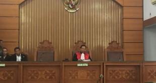 Situasi sidang praperadilan Setya Novanto di PN Jaksel (Foto: Harits/Okezone)