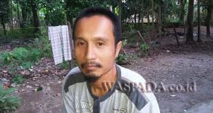 Nurmanto SE alias Manto (39) tokoh pemuda dan juga Ketua BKPRMI Secanggang. (WOL Photo/Gacok)