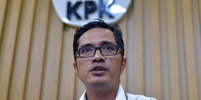 Juru Bicara KPK, Febri Diansyah. (Foto: Antara)