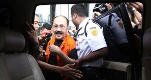 Fredrich Yunadi ditangkap KPK (Foto: Ant)