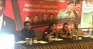 Diskusi 'Mencari Cawapres Pendamping Jokowi'. (Foto: Harits Tryan Akhmad/Okezone)