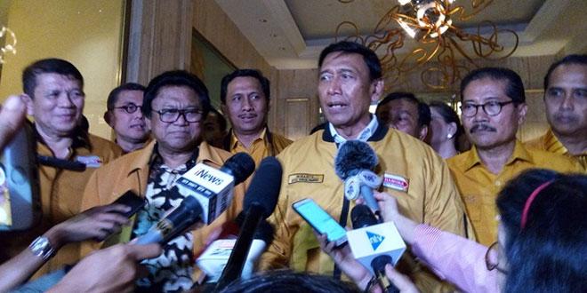 Ketua Dewan Pembina Hanura Wiranto (Foto: Bayu Septianto)