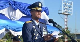 Komandan Pangkalan TNI AU Roesmin Nurjadin Pekanbaru, Marsekal Pertama Age Wiraksono. (foto: Ist)