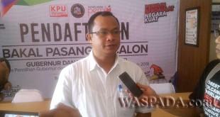Ketua KPU Sumut Mulia Banurea. (WOL Photo)