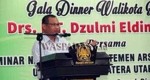 Wakil Wali Kota Medan, Akhyar Nasution. (WOL Photo)