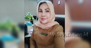 Kepala Bidang (Kabid) Pembinaan SMA Dinas Pendidikan Sumatera Utara (Disdik Sumut) Dra. Hj. Hamidah Pasaribu, MPd.