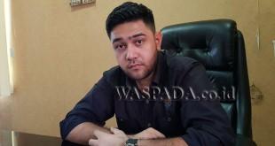 Ketua Satuan Pelajar Mahasiswa (Sapma) Pemuda Pancasila Sumatera Utara, M Rahmaddian Shah.