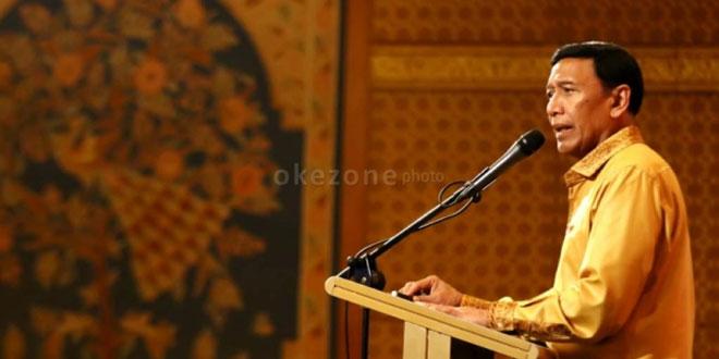Ketua Dewan Pembina Partai Hanura, Wiranto (foto: Okezone)