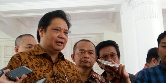 Ketua Umum Partai Golkar, Airlangga Hartato (foto: Okezone)