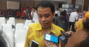 Sekjen Partai Berkarya Badarudin Andi Picunang (Dwi Andayani/detikcom)
