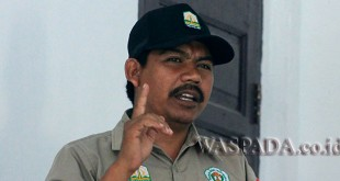 Ketua IPSM Aceh Utara, Mukhtaruddin S. Pd. (WOL Photo/Chairul Sya'ban)