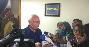 Mantan Ketua Dewan Pers Bagir Manan (Foto: Badriyanto/Okezone)