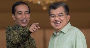 Presiden Jokowi dan Wapres JK (foto: Okezone)