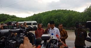 Presiden Joko Widodo di Denpasar (Nurul/Okezone)