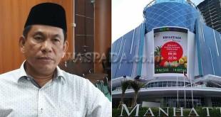 Anggota Komisi D DPRD Medan, Ahmad Arif (kiri), Manhattan Mall. (WOL Photo)
