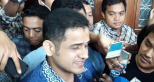 Mantan Bendahara Umum Partai Demokrat, Muhammad Nazaruddin di Pengadilan Tipikor Jakarta, Senin (19/2/2018). (foto: kompas.com)