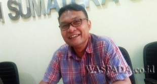 Komisioner KPU Sumut, Benget Silitonga. (WOL Photo)