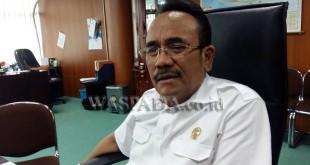 Politisi Gerindra DPRD Kota Medan, Godfried Effendi Lubis. (WOL Photo/M. Rizki)