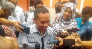 Kuasa Hukum JR Saragih, Ikhwaluddin Simatupang. (WOL Photo)