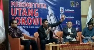 Foto: Diskusi bertajuk Meroketnya Hutang Jokowi di Gedung DPP PKS