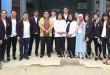 Kepala Lapas Wanita Kelas II A Medan, Surta Duma Sihombing Bc.IP SH MSi foto bersama Ketua Prodi FH UNPRI, Rahmayanti SH MH dan rombongan