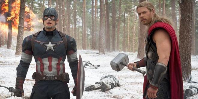 Captain America dan Thor. (Foto: Dok. Walt Disney Studio Motion Pictures)