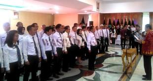 Gubsu Resmi Lantik Pengurus Dewan Kesenian Sumut 2017 - 2022. (WOL Photo)