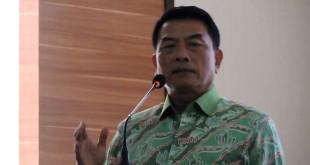Kepala Staf Kepresidenan Jenderal (Purn) Moeldoko (Foto: Taufik Budi/Okezone)