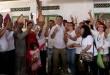 Calon Wakil Gubernur Sumatera Utara, Sihar Sitorus ketika bertemu dengan para relawan di kota Pematang Siantar, Rabu (21/3). (WOL Photo/Ist)