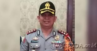 Kapolres Pelabuhan Belawan, AKBP Ikhwan Lubis SH MH.(WOL. Photo/Gacok)