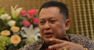 Ketua DPR Bambang Soesatyo (Wahyu/Antara)
