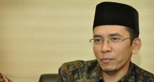 Gubenur NTB Tuan Guru Bajang (foto: Okezone)