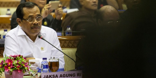 Jaksa Agung Prasetyo (Foto: Okezone)