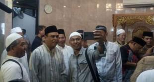 Wakapolri Komjen Pol Syafruddin di Masjid Al Ittihad, Tebet, Jakarta Selatan (foto: Taufik Fajar/Okezone)