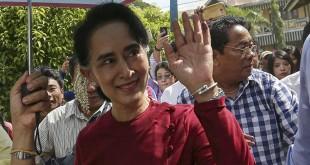 Aung San Suu Kyi. (Foto: Reuters)