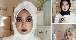 Hijab pocong (Foto: Azzim_Aziz/ Instagram)