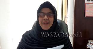 Kabag Persidangan dan Perundang-undangan Sekretariat DPRD Kota Medan, Hj Alida. (WOL Photo/M Rizki)