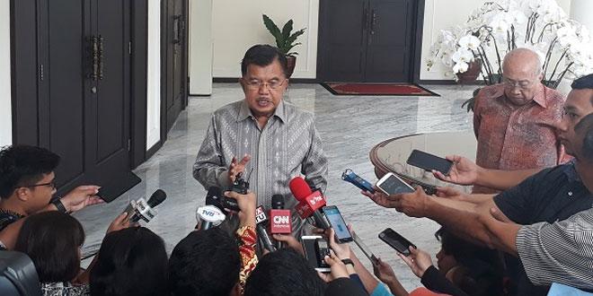 Wakil Presiden RI Jusuf Kalla (Foto: Fahreza Rizky/Okezone)