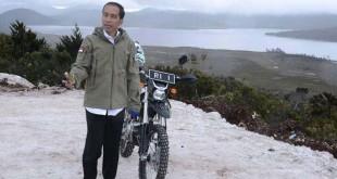 Presiden Jokowi ketika di Papua beberapa waktu lalu. (Foto: Biro Pers Setpres)