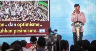 Presiden Jokowi Hadiri Silaturahmi Penyuluh Agama di Semarang, Jawa Tengah (foto: Antara)