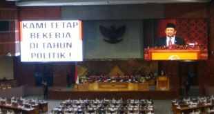 Paripurna masa sidang IV Tahun Sidang 2017-2018 di Gedung DPR/MPR, Senayan, Jakarta, Kamis (26/4/2018). (Foto: Harits Tryan Akhmad/Okezone)