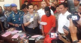 Kapolres Jakarta Selatan Kombes Indra Jafar saat konpers (Foto: Harits Tryan Akhmad/Okezone)